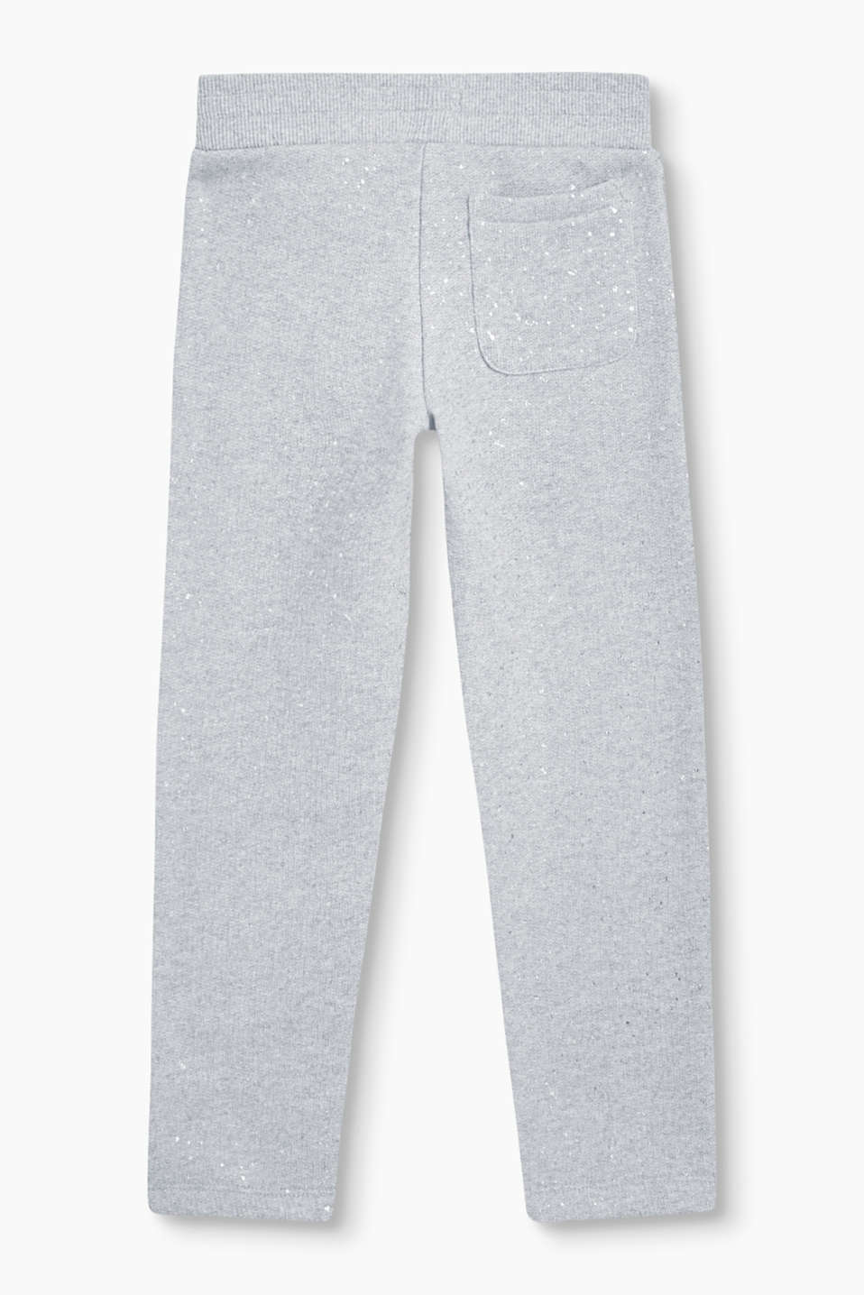 Soft glitter print tracksuit bottoms