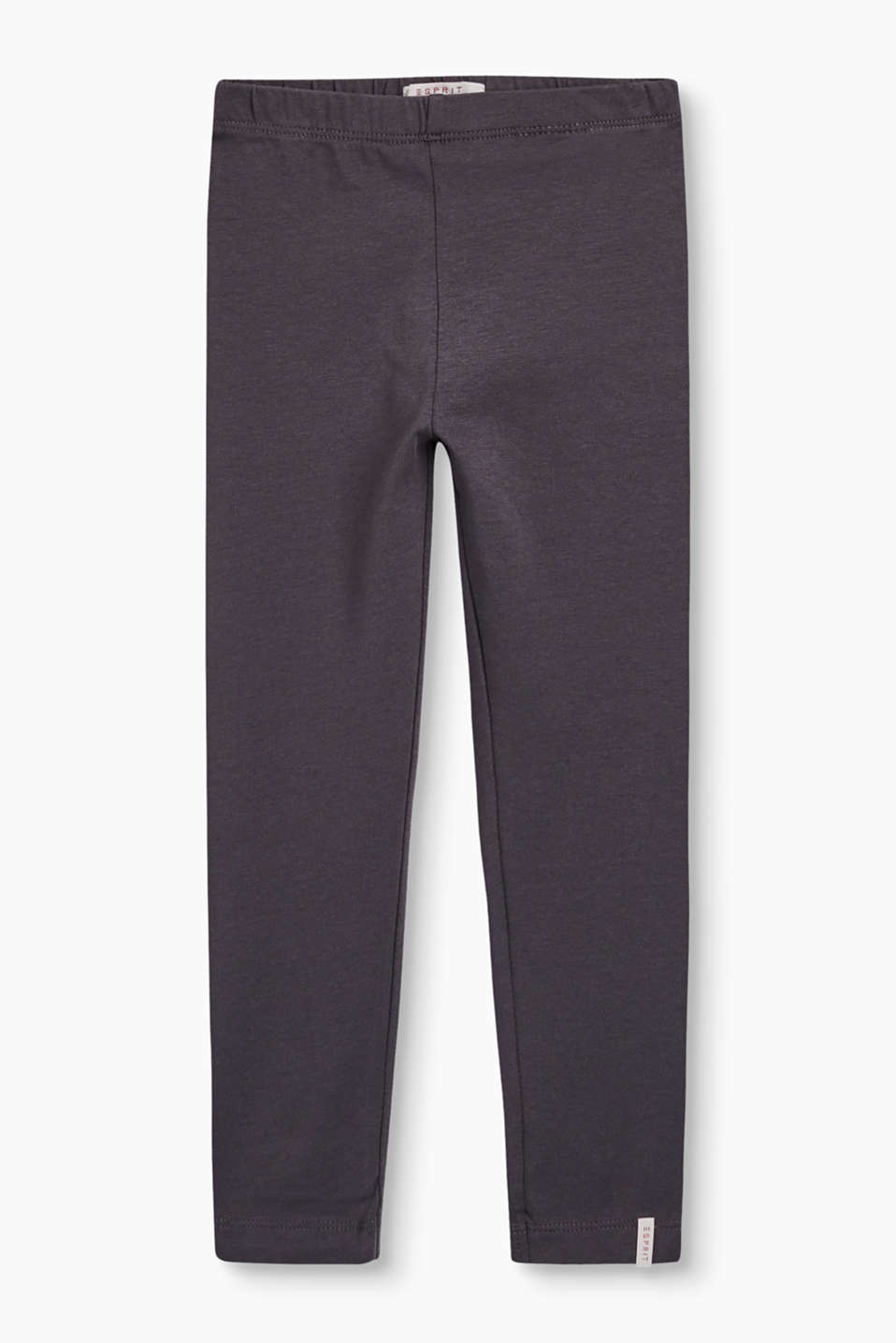 Esprit - Basic Leggings aus Baumwoll-Stretch
