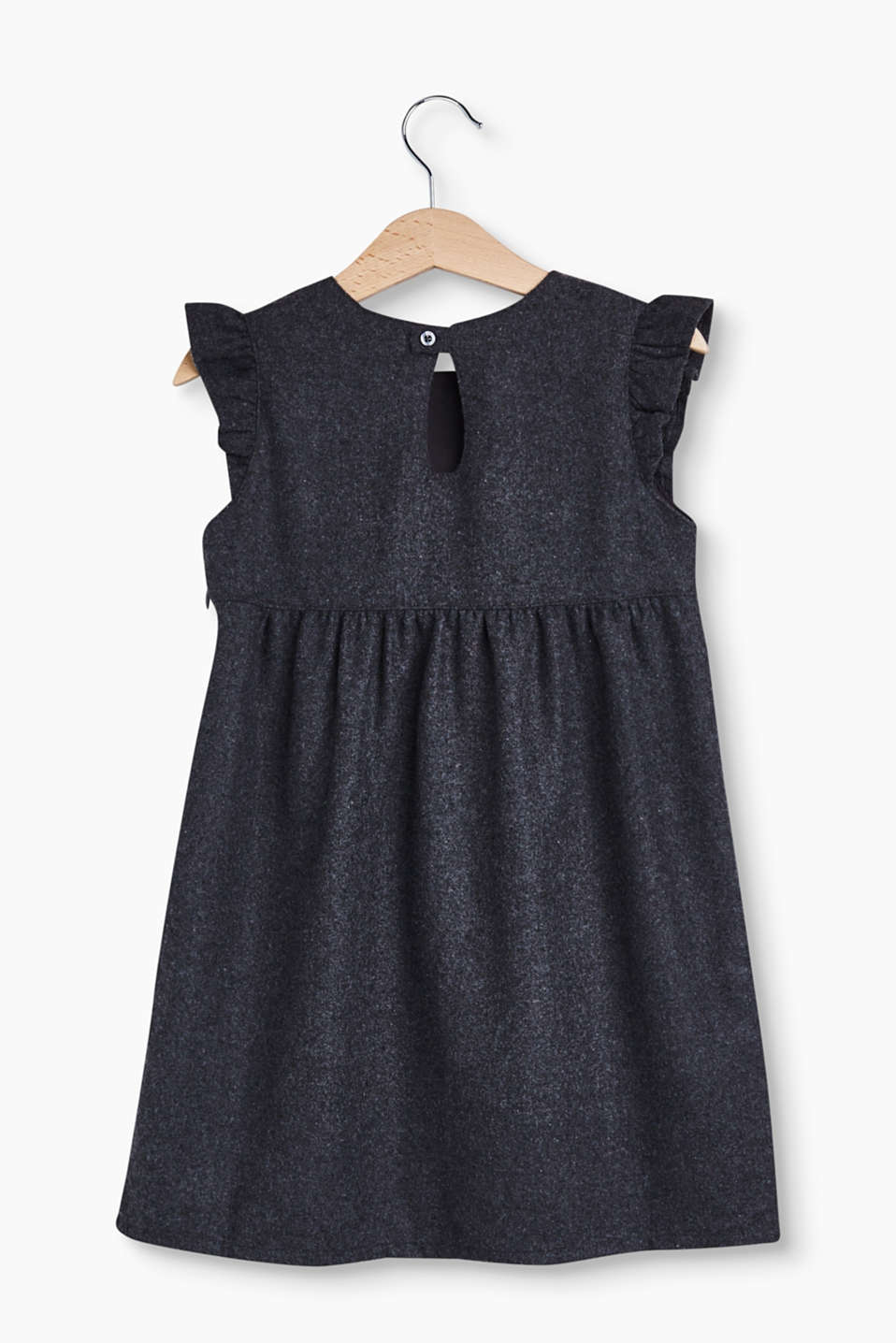 Occasion wear dress in soft flannel