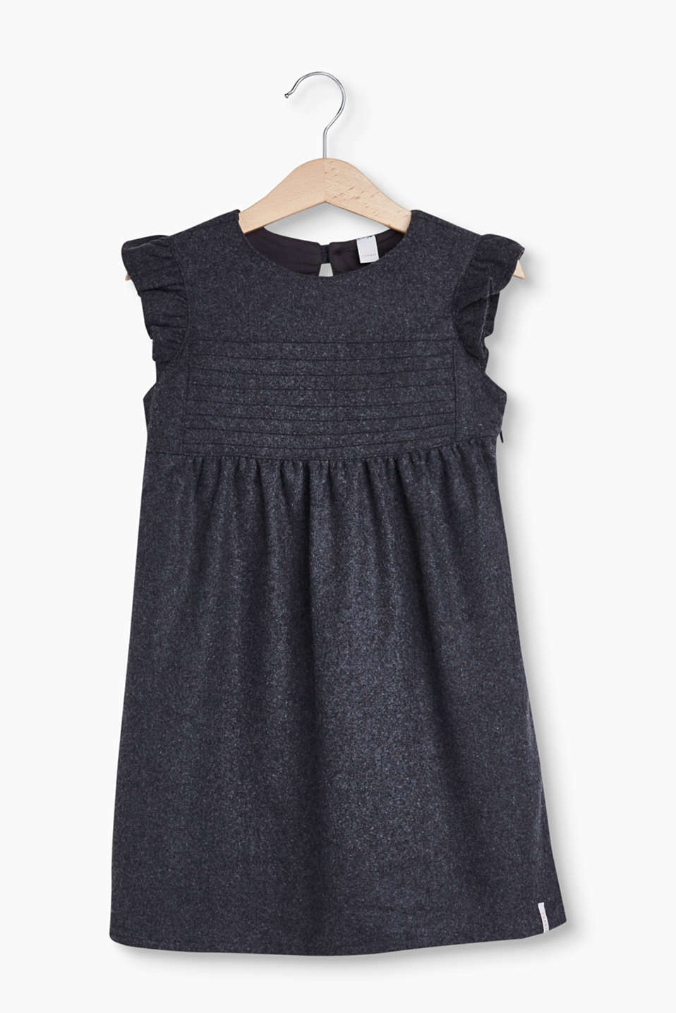 Esprit - Occasion wear dress in soft flannel