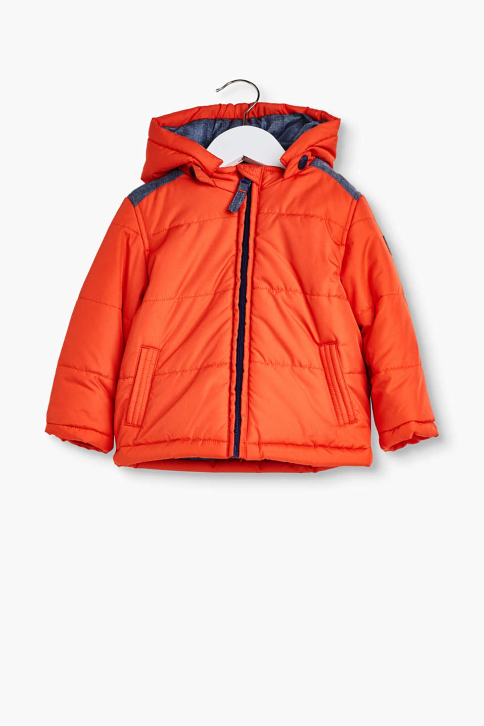 Esprit - Padded jacket with a detachable hood