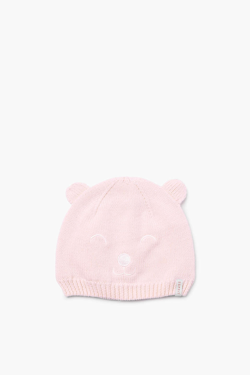 Esprit - Knitted hat with ears, cotton