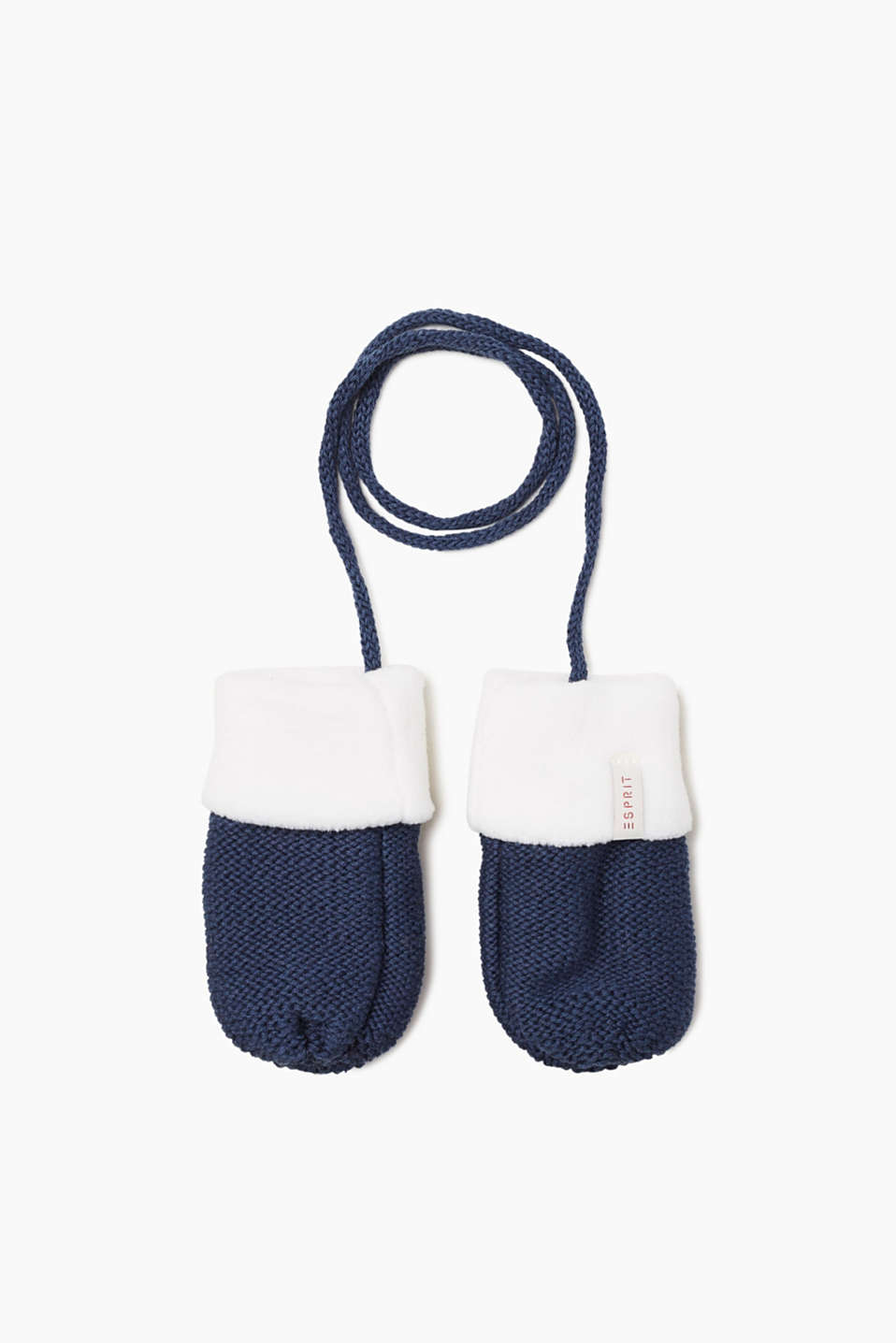 Esprit - Mittens with soft fleece lining