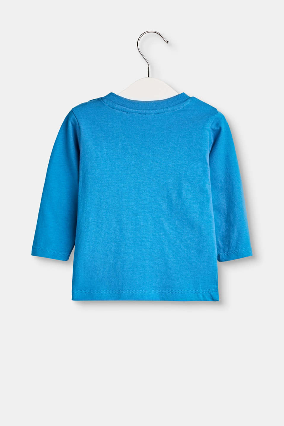 Organic cotton long sleeve top