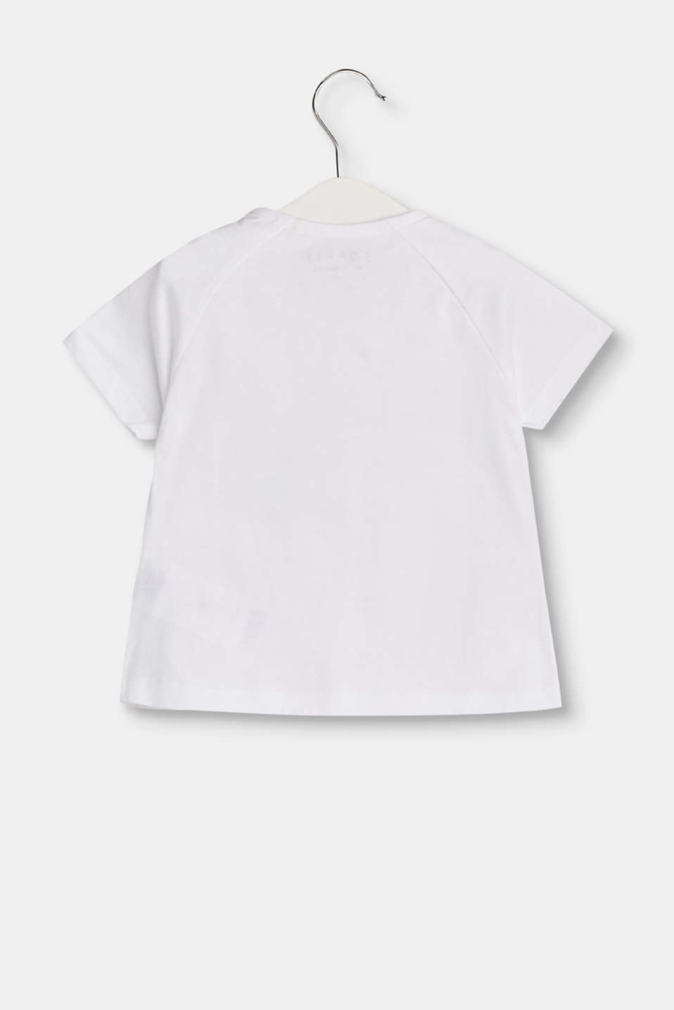 T-shirt with summery print, cotton