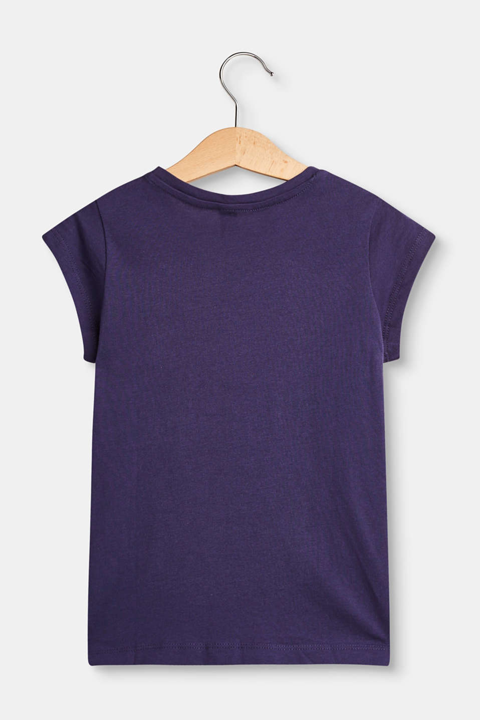 Cotton T-shirt with a colourful statement