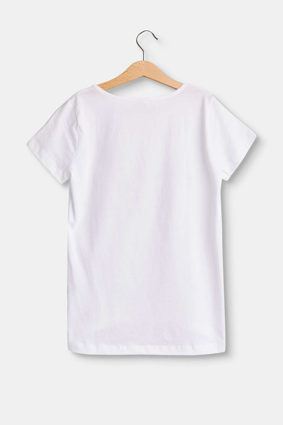 Cotton T-shirt with a statement print