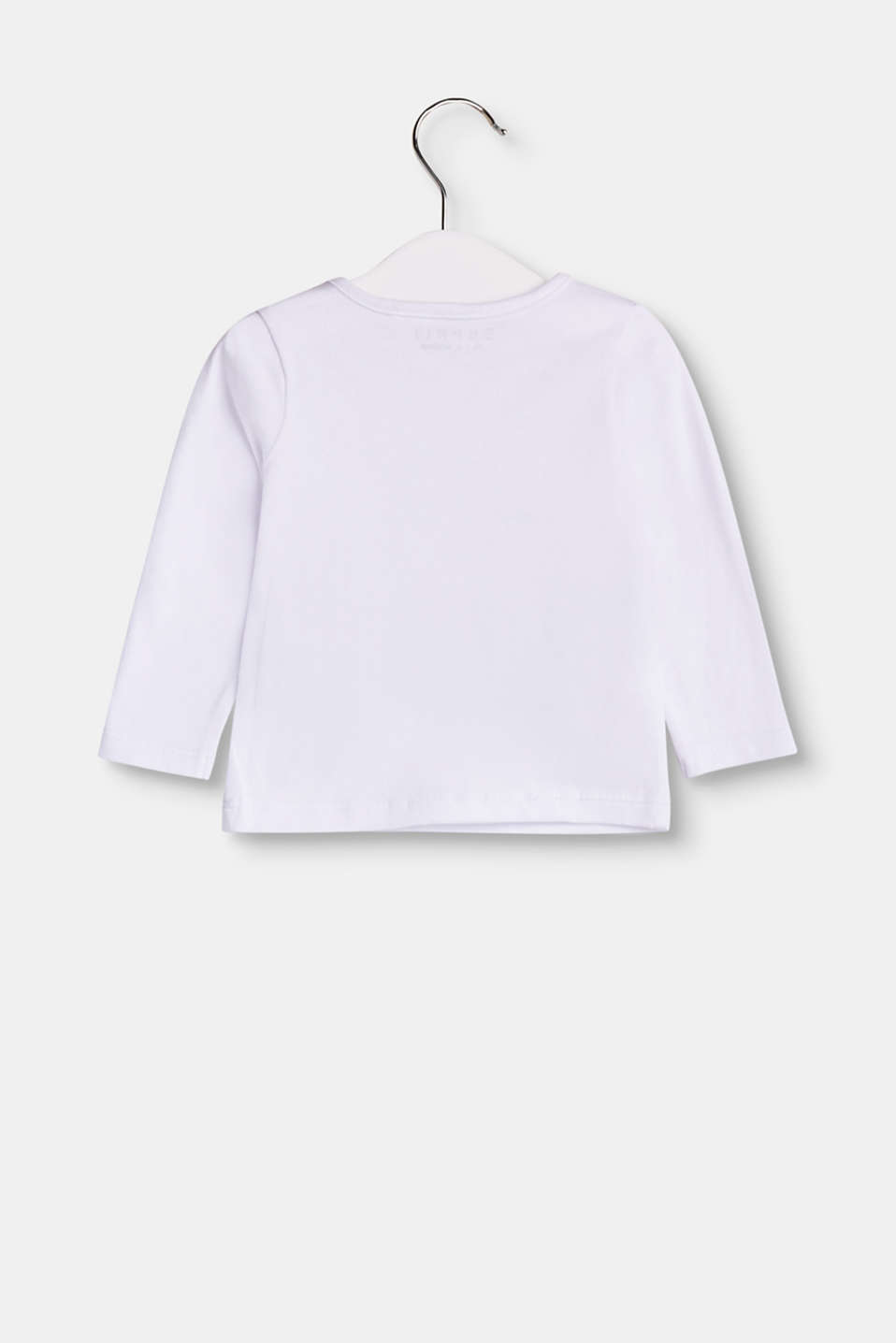 Soft long sleeve top with organic cotton