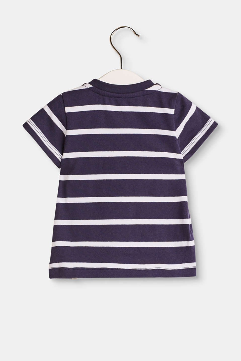 T-shirt with nautical stripes, 100% cotton