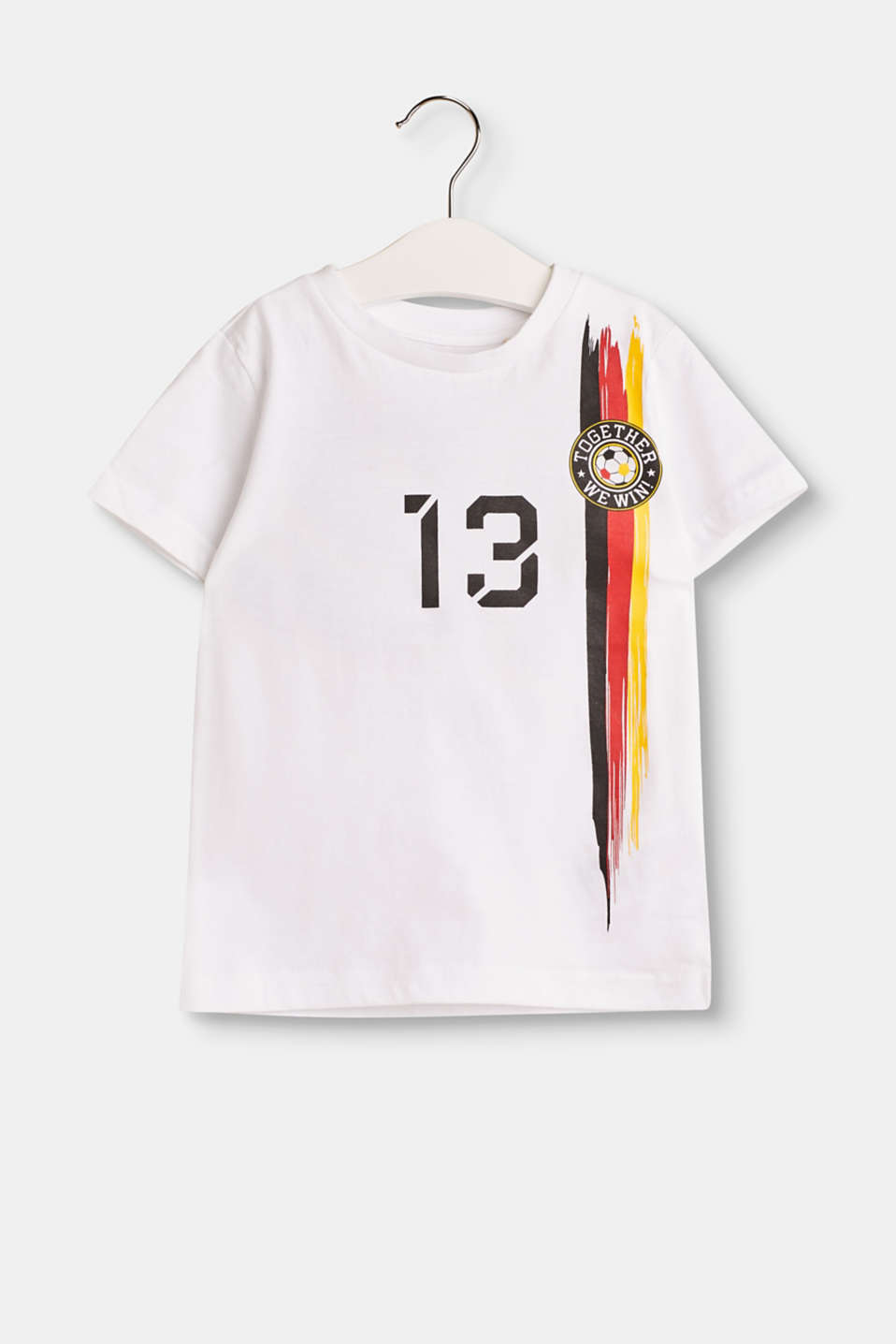 Esprit - Kids football shirt in 100% cotton