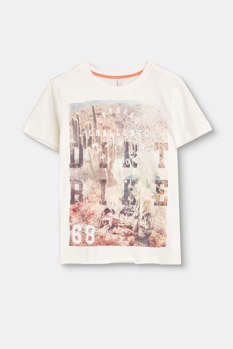 Esprit - Cotton T-shirt with photo print