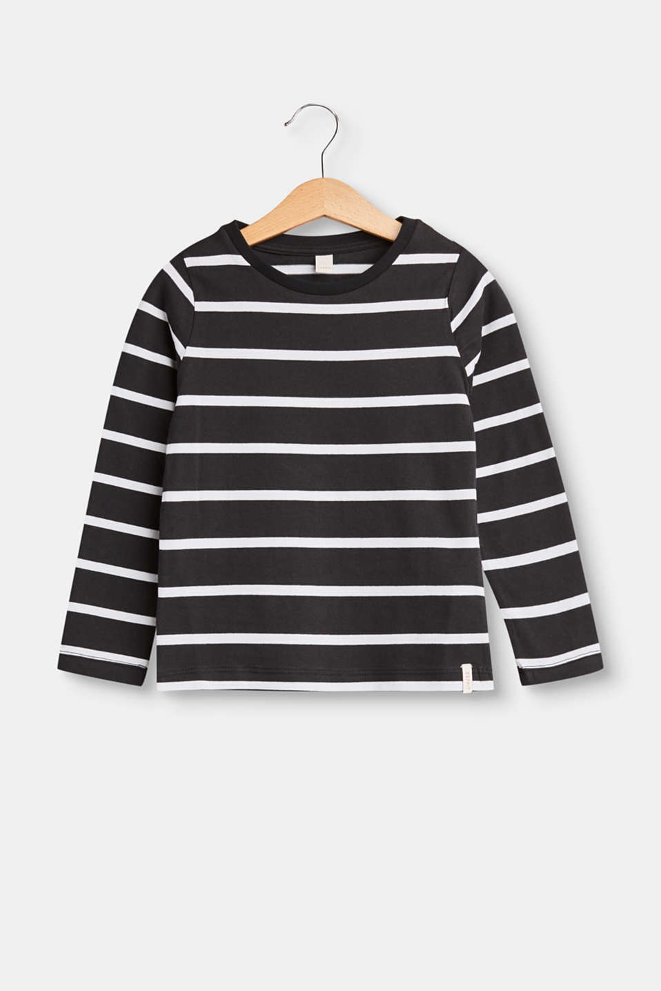Esprit - Stretch cotton long sleeve top