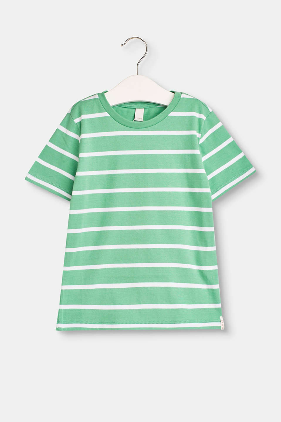Esprit - Cotton T-shirt with stripes