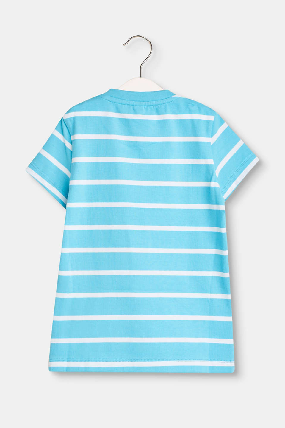 Basic striped T-shirt with stretch for comfort