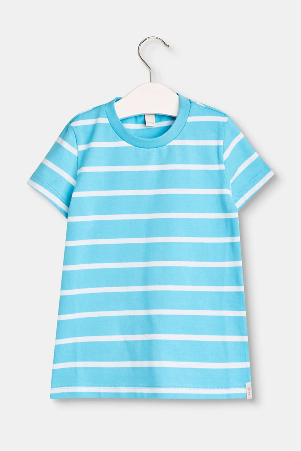 Esprit - Basic striped T-shirt with stretch for comfort