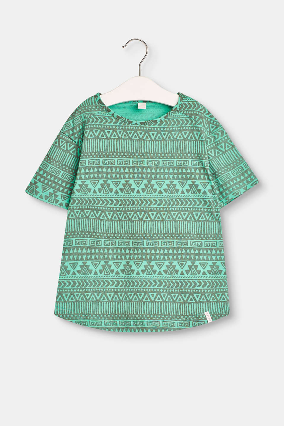 Esprit - Cotton top with an ethnic print