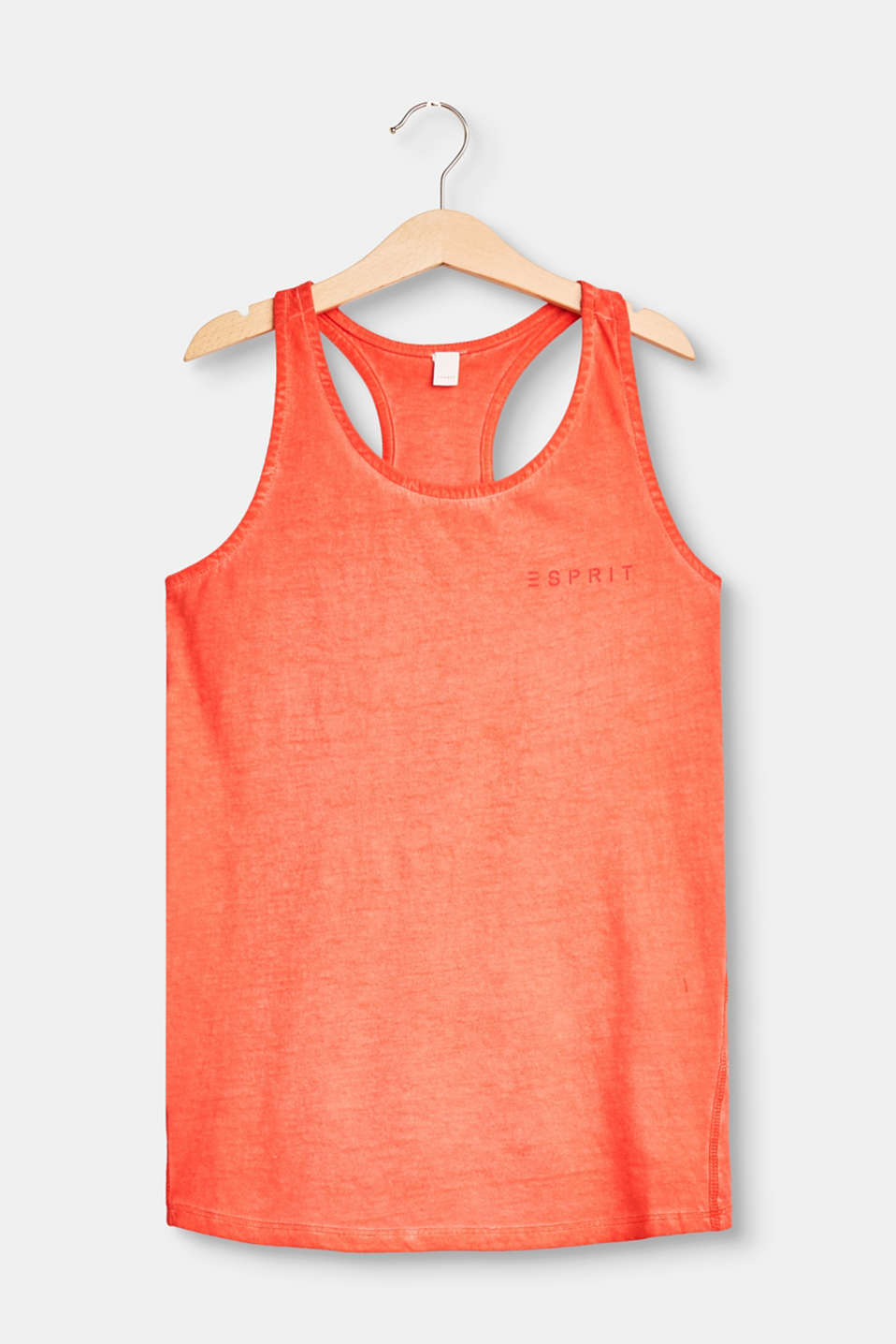 Esprit - A-line vest top with a print on the back