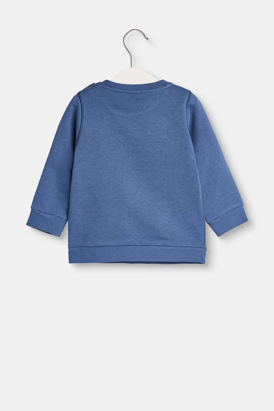 Sweatshirt with a print in cotton