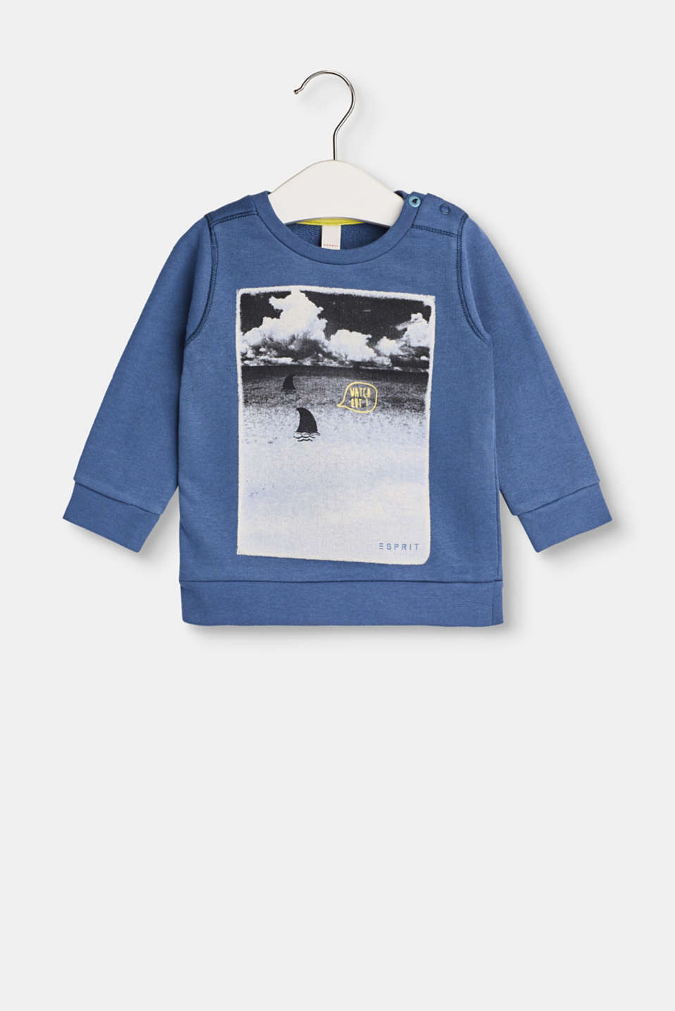 Esprit - Sweatshirt with a print in cotton