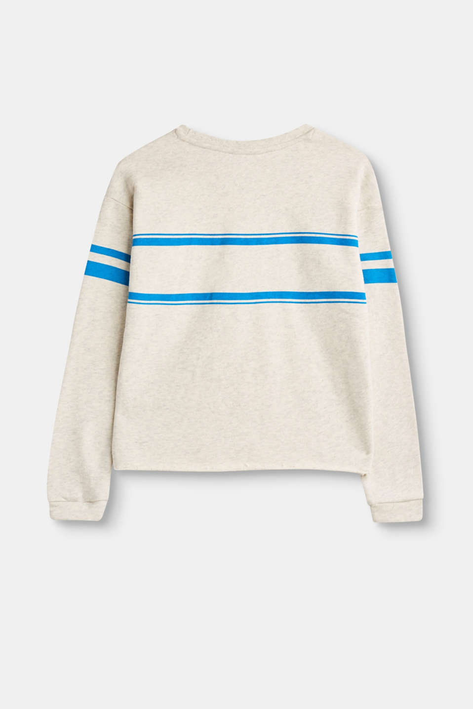 Statement-Sweatshirt aus 100% Baumwolle