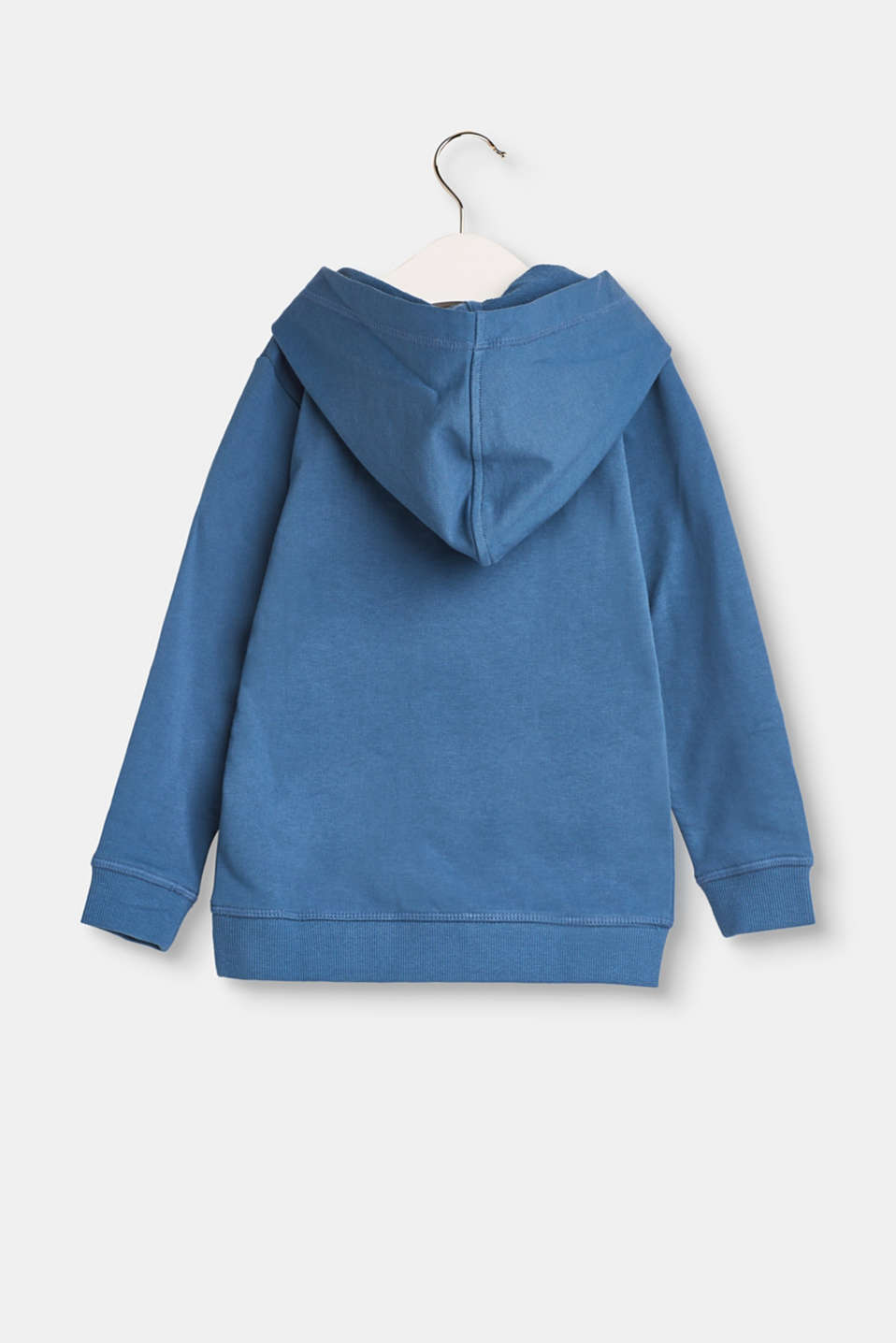 Cotton sweatshirt with a hood
