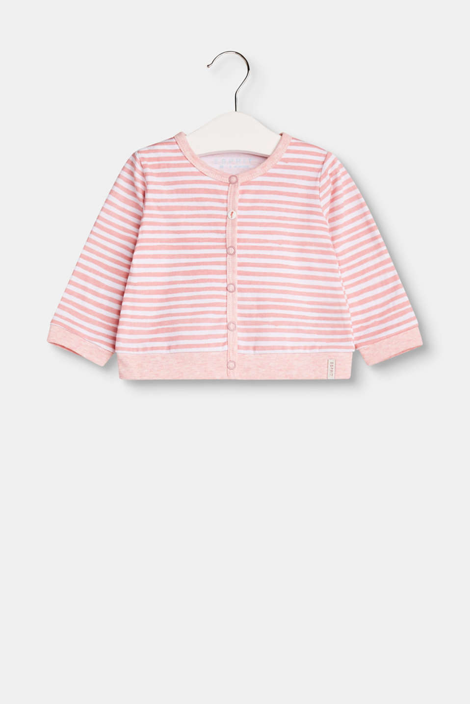 Esprit - Jersey cardigan containing organic cotton
