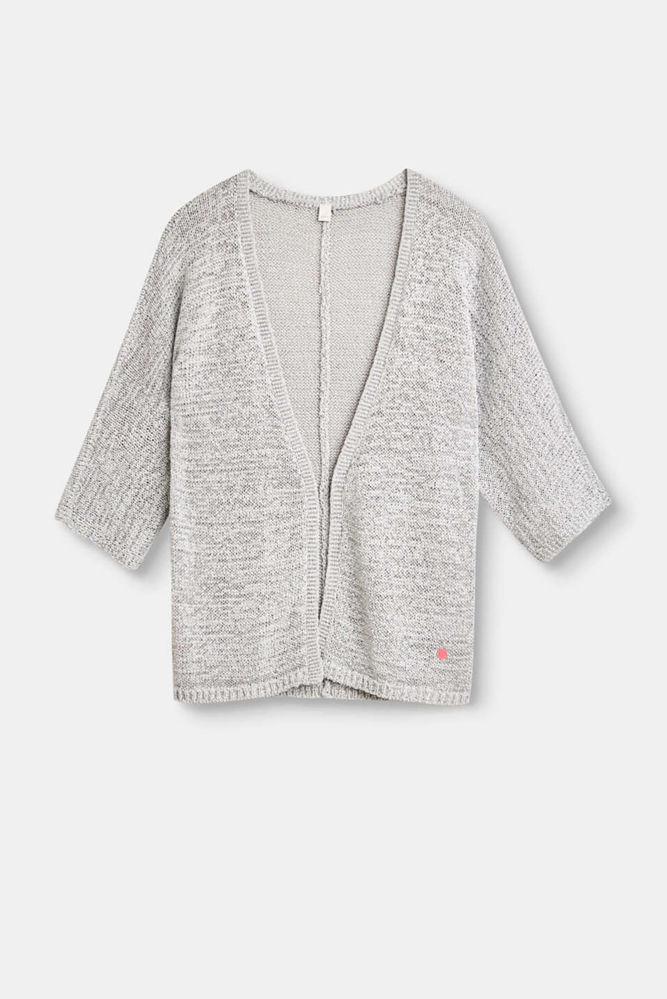 Esprit - Open ribbon yarn cardigan
