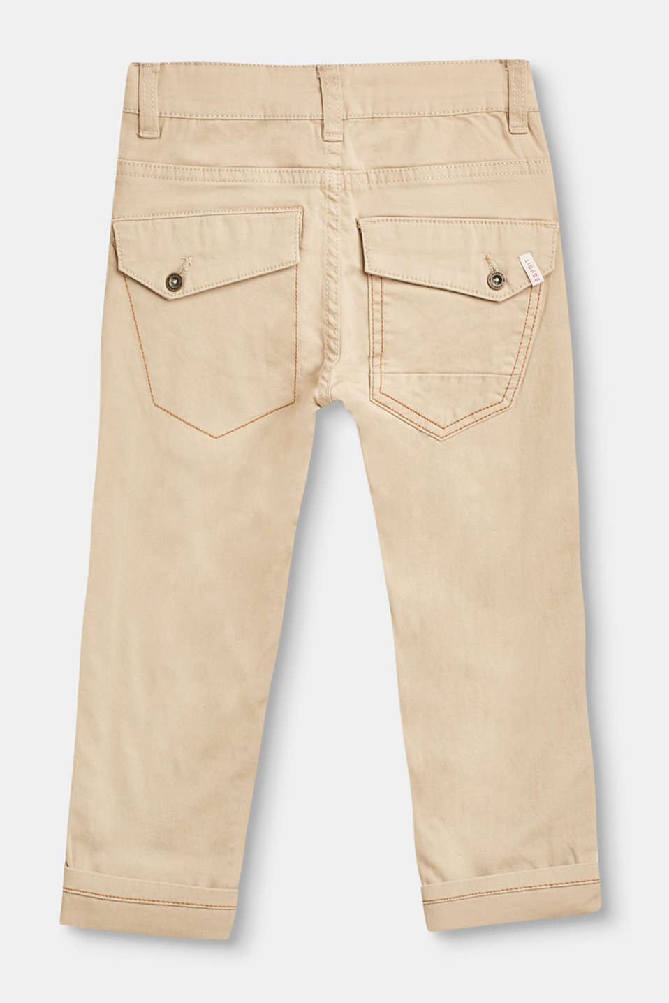 Cotton trousers with stretch for comfort
