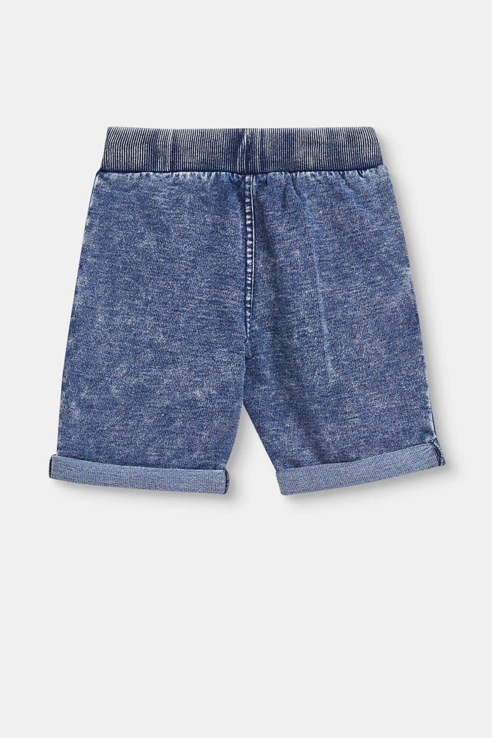 Tracksuit bottoms with an authentic indigo dye