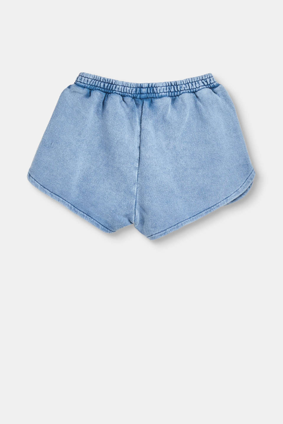 Cotton jogg shorts with glitter cord