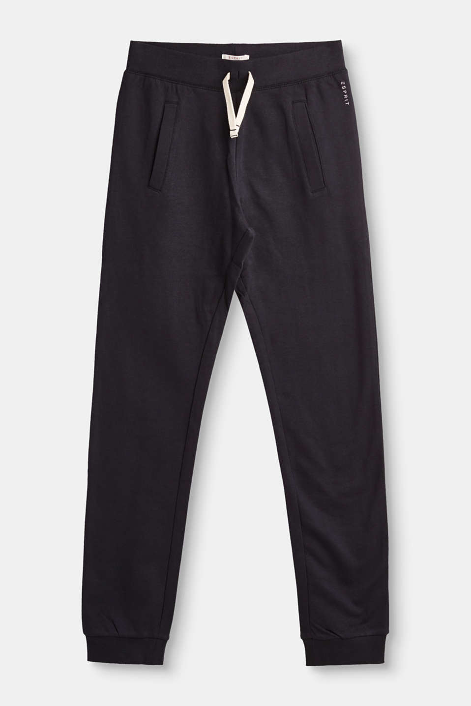 Esprit - Basic tracksuit bottoms in 100% cotton