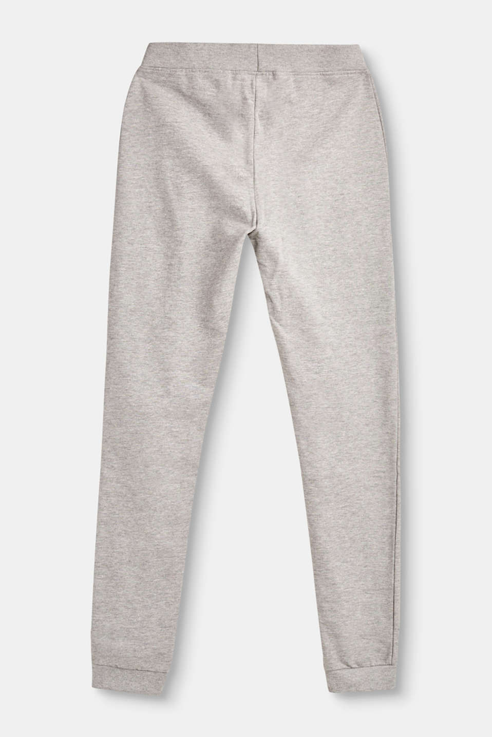 Cotton tracksuit bottoms