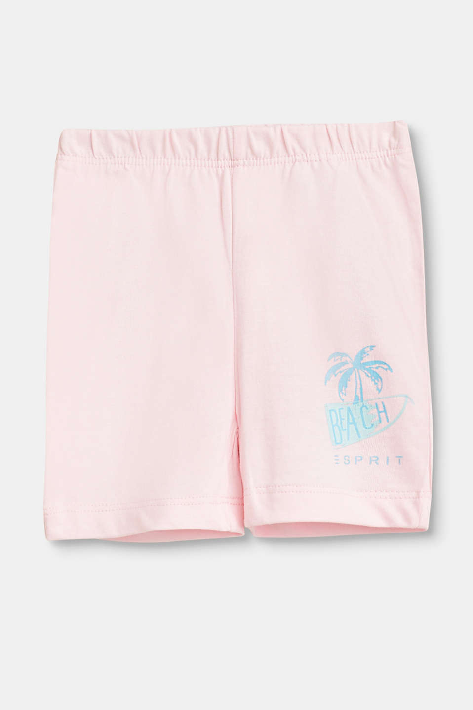 Esprit - Cotton shorts with print details