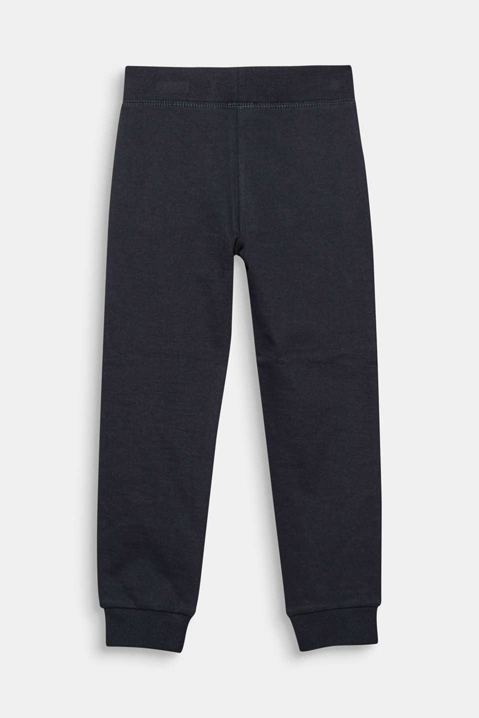 Melierte Basic Sweat-Hose