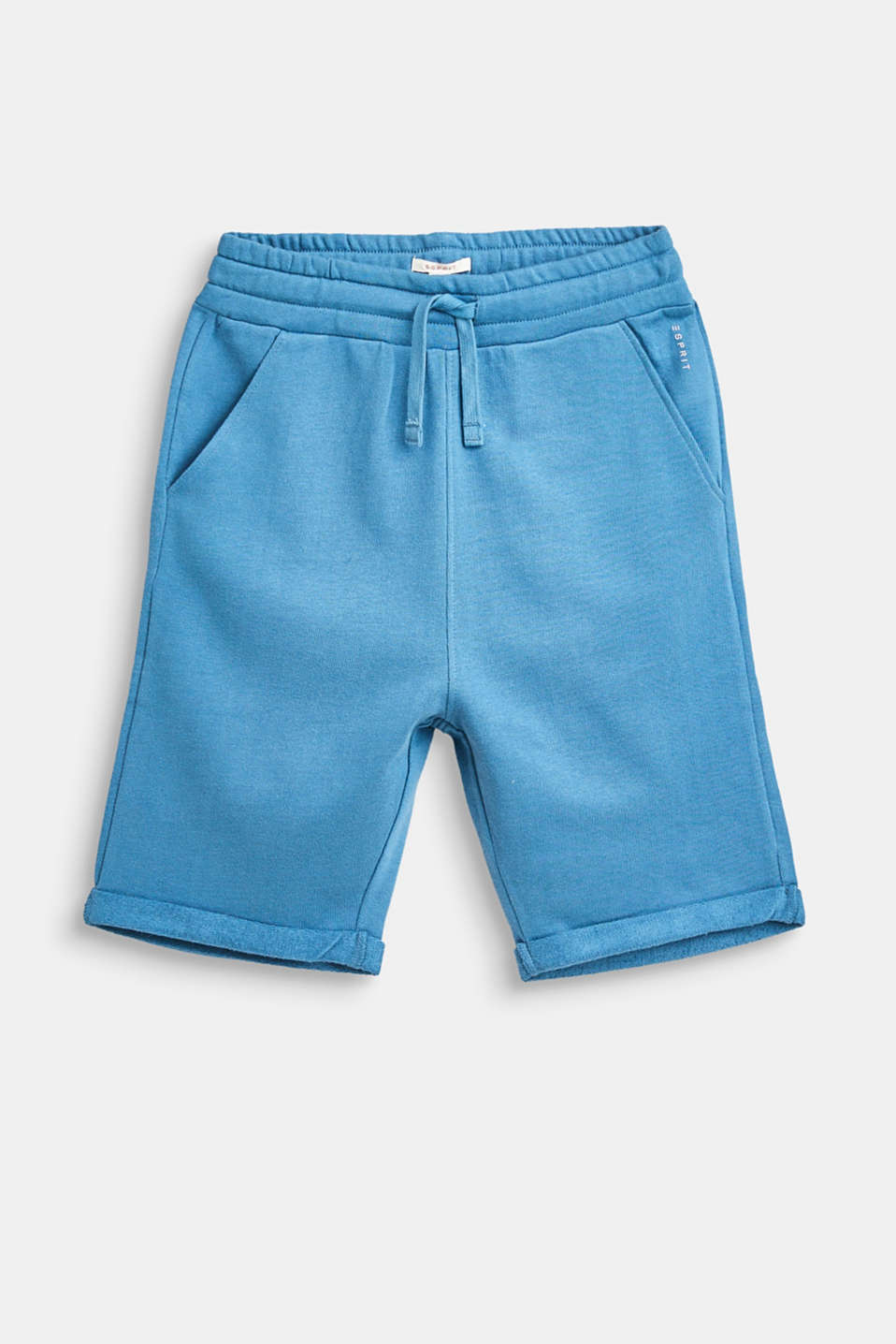 Esprit - Basic sweat shorts in 100% cotton