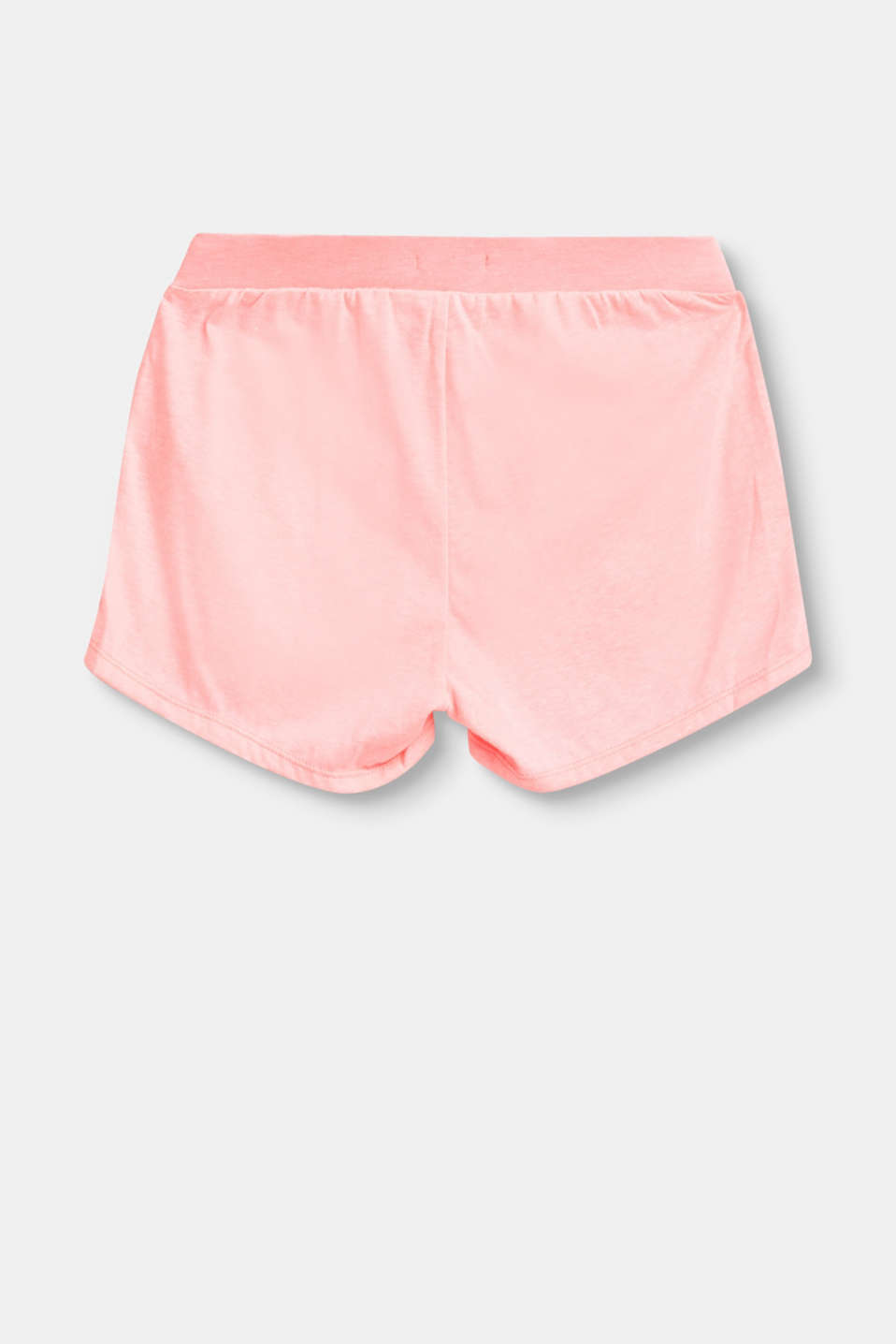 Lightweight jersey shorts with elasticated waistband