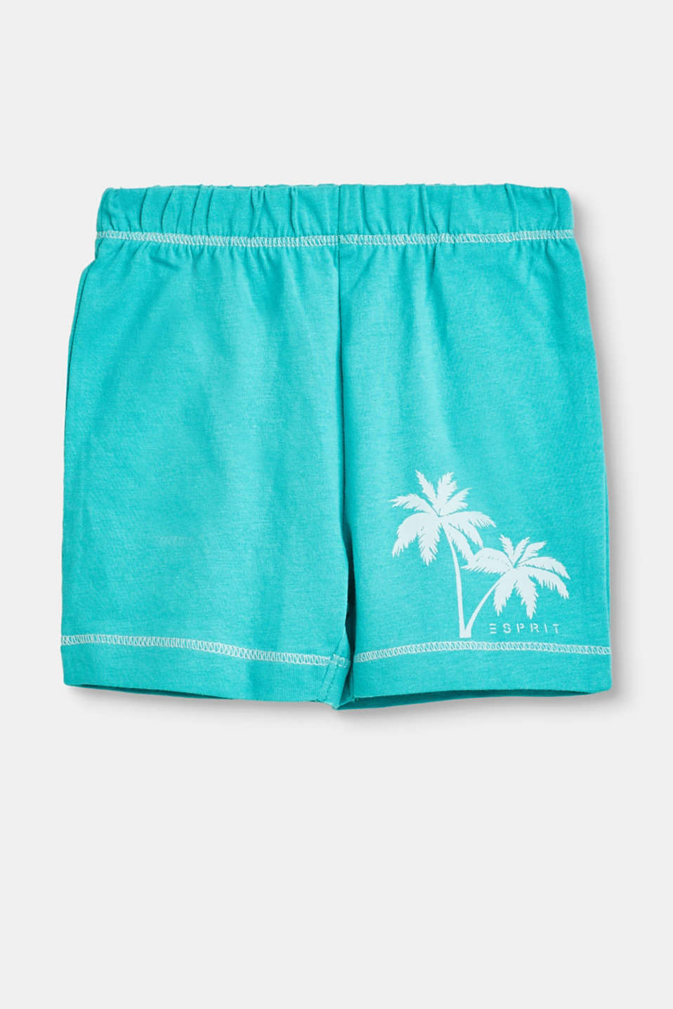 Esprit - Cotton shorts with print