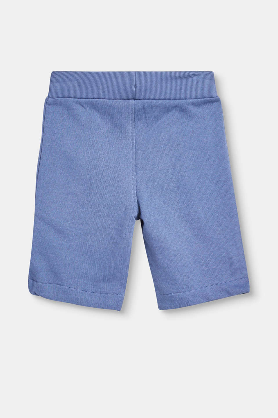 Basic sweat shorts in pure cotton