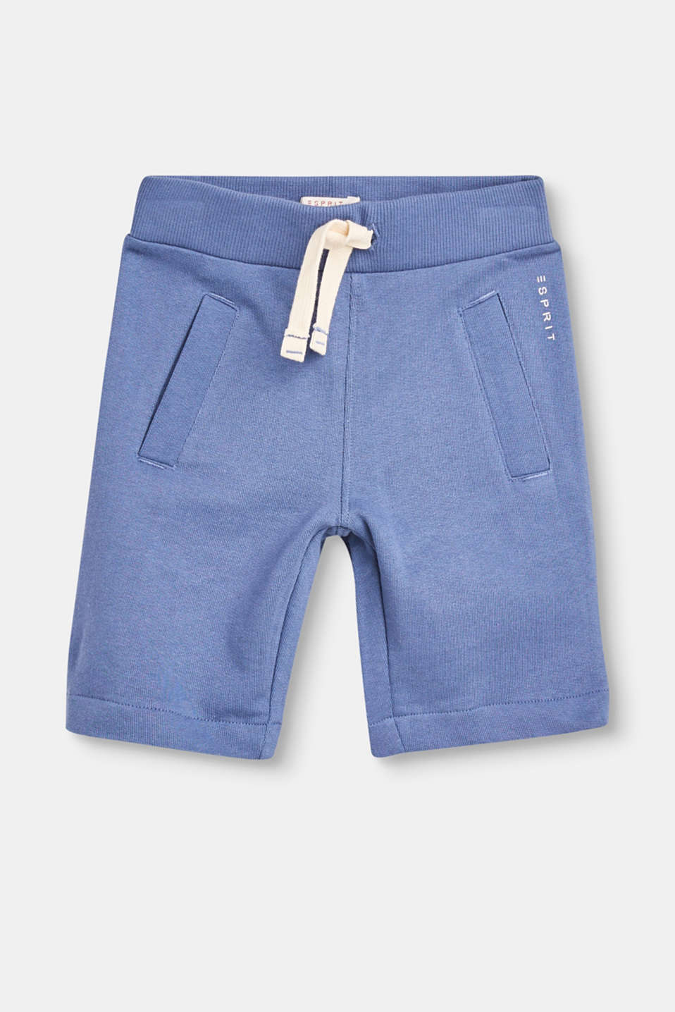 Esprit - Basic sweat shorts in pure cotton