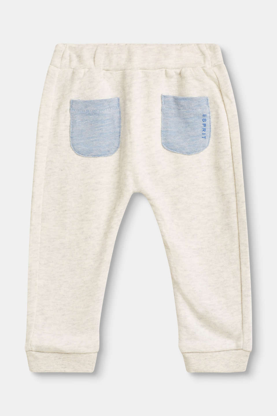 Comfy tracksuit bottoms with organic cotton