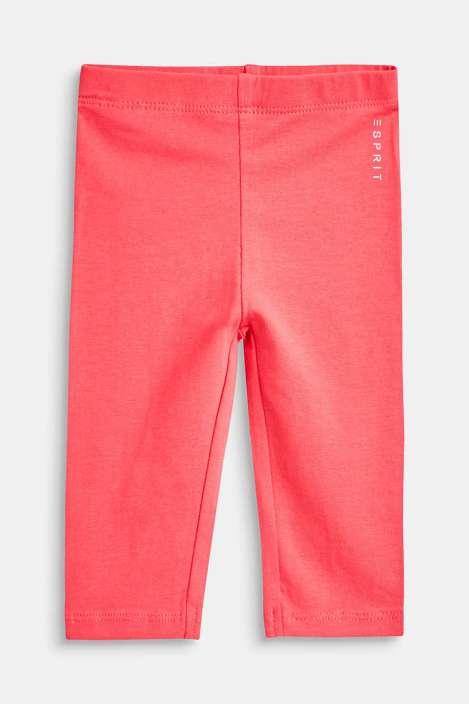 Esprit - Soft cotton blend basic leggings