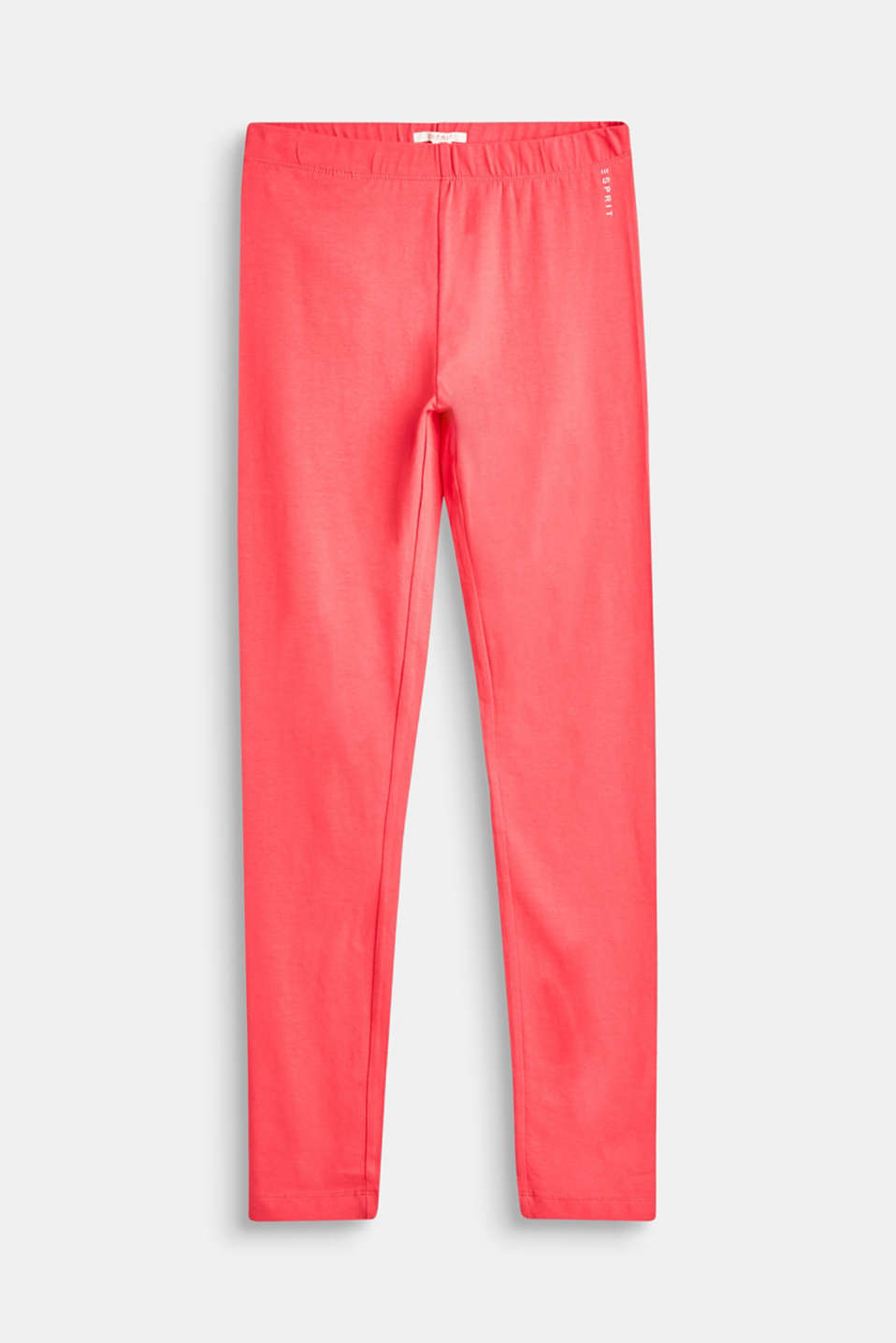 Esprit - Basic leggings in stretch cotton