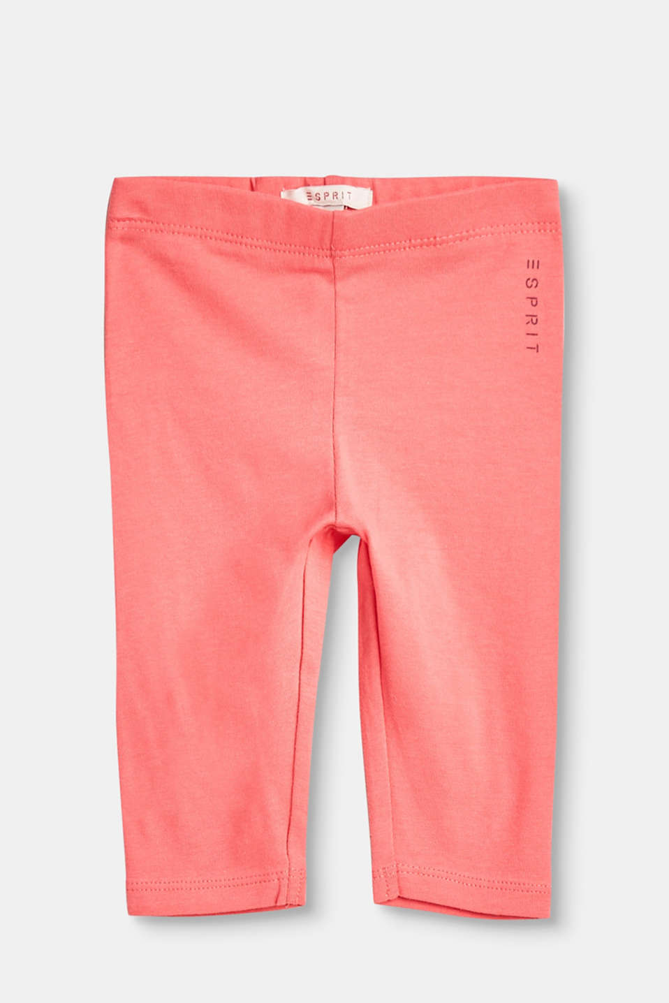 Esprit - Soft basic leggings in stretch cotton