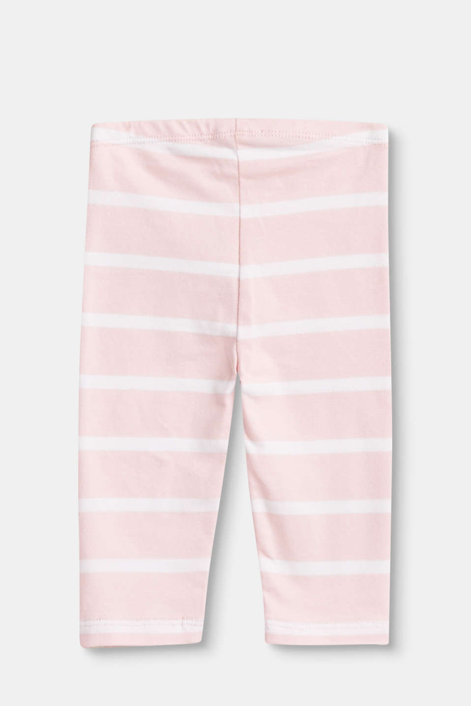 Soft leggings with sporty stripes