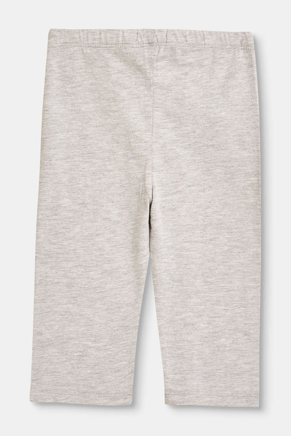 Capri stretch cotton leggings