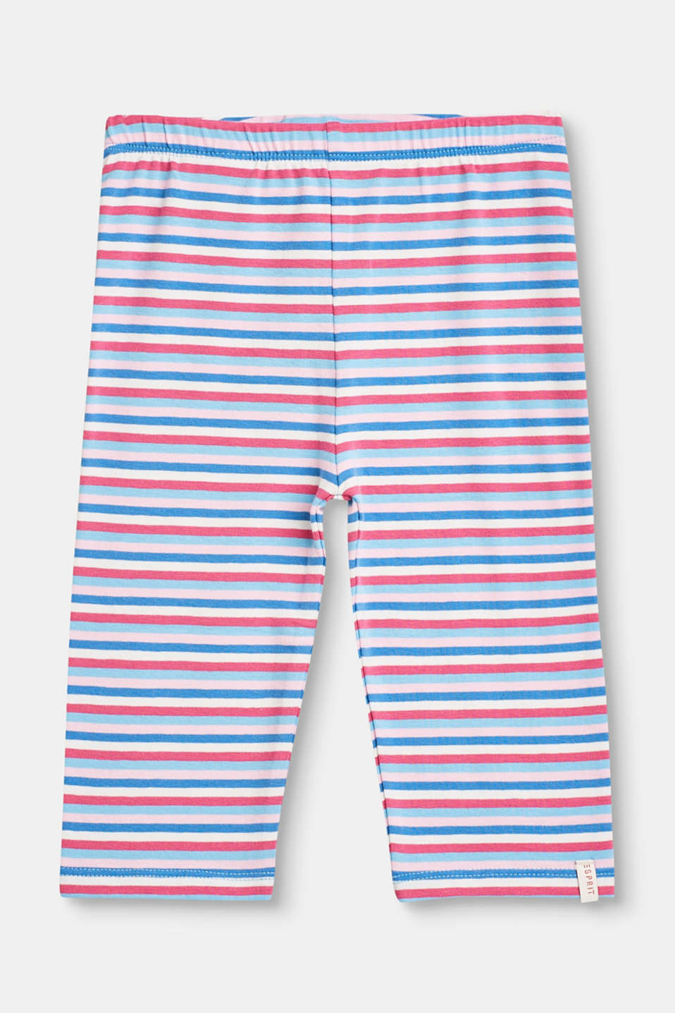 Esprit - Striped stretch cotton leggings