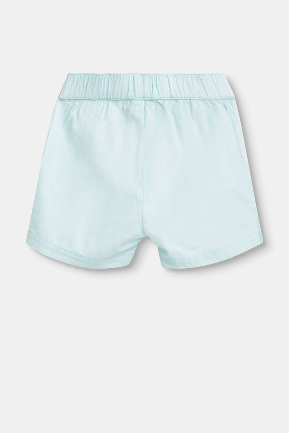 Woven shorts with an elasticated waistband, 100% cotton
