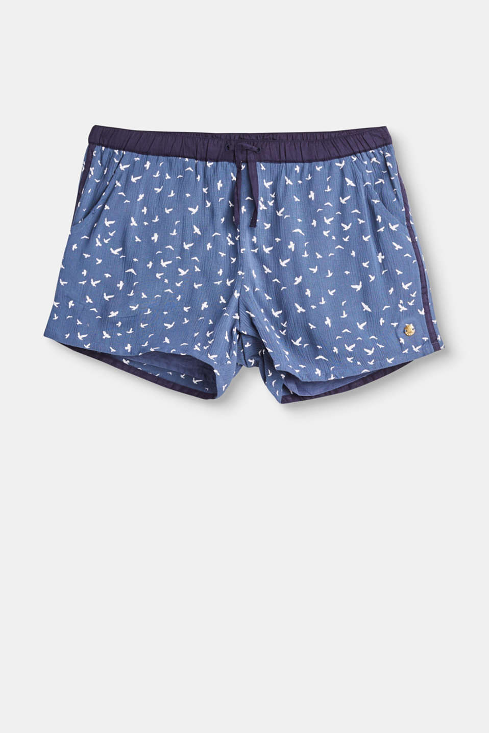 Esprit - Flowing shorts with an all-over print