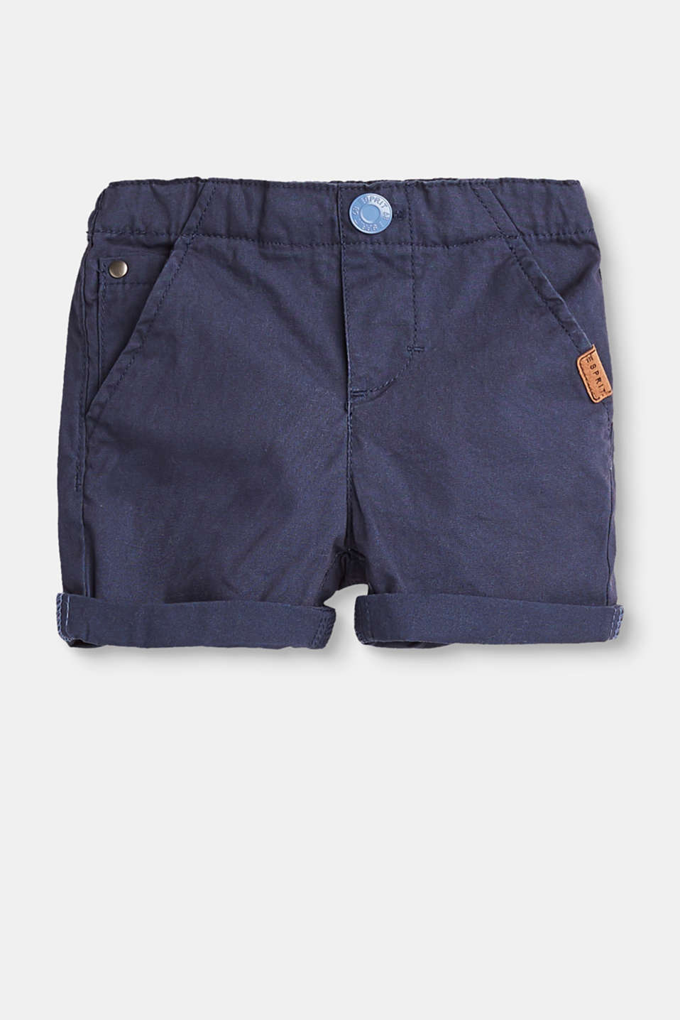 Esprit - Basic shorts in 100% cotton