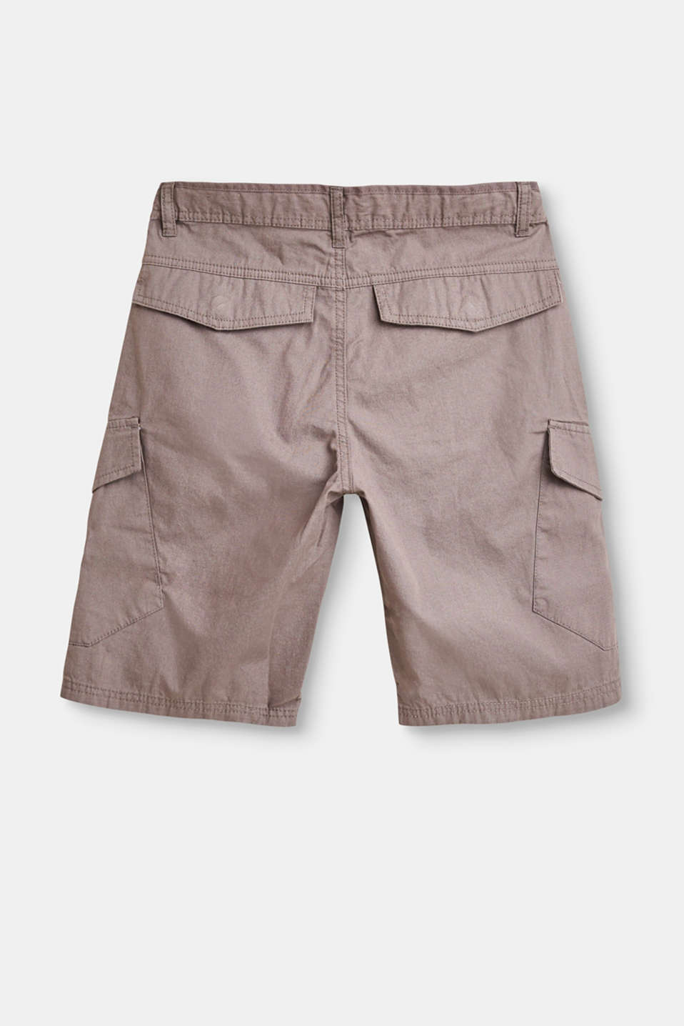 Woven cargo shorts in 100% cotton